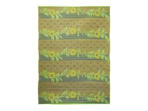 Gold Vines Floor Mat