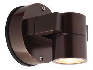 Access Lighting KO Wet Location Spotlight, Bronze, Clear Glass - 20351MG-BRZ-CLR