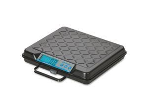 "Salter Brecknell Digital Bench Scales, 100Lb, 12-1/2""X10""X2-1/2"", Black"