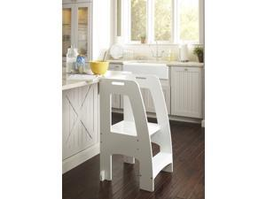 Step-Up Kitchen Helper in White Finish