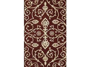 Amber Area Rug In Burgundy-Gold - 11 ft. x 8 ft.