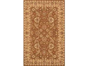 Harmony Area Rug In Green-Gold - 8 ft. x 5 ft.