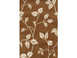 Florence Area Rug In Brown-Beige - 8 ft. x 5 ft.