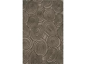 Beverly Area Rug In Beige-Brown - 8 ft. x 5 ft.
