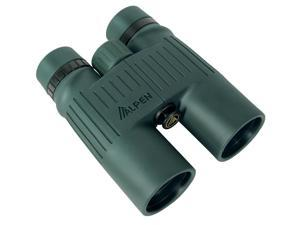 Alpen Pro 8x42 Roof BaK4 Prism Waterproof Binoculars, Green, Carrying Case