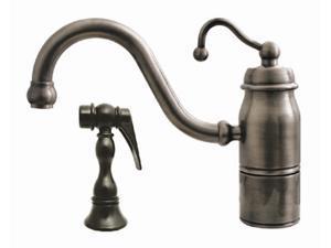 Beluga Single Handle Faucet (Antique Copper)