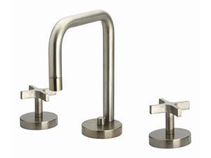 Metrohaus 5.88 in. Widespread Lavatory Faucet (Brushed Nickel-PVD)
