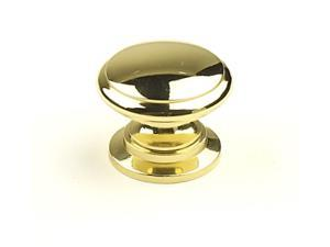 Hartford 1-1/4 in. dia. Solid Brass Knob (Set of 10) (Aged English)