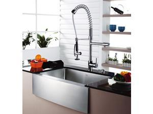Single Lever Pull Out Kitchen Mixer Chrome