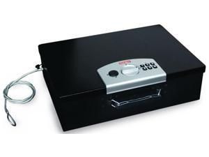 Digital Security Box w Cable in Black - 0.49 cu. ft.