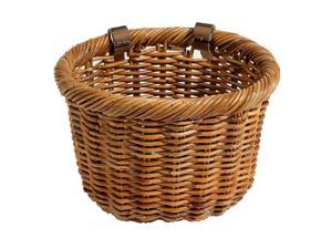 Cisco Oval Bicycle Basket in Tan