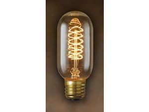 Edison Torch Spiral Filament Antique Light Bulbs - 10 Bulbs