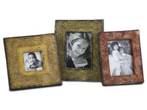 3-Pc Terracotta Photo Frames