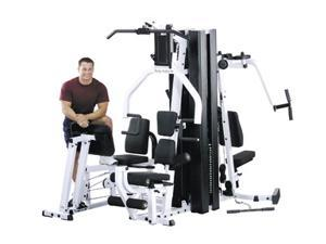 Multi-Station Dual Weight Stack Home Gym