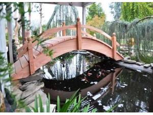Hand-Crafted High Arch Short Post Bridge (10 ft. High Arch Short Post Bridges)