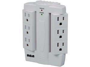 6-Outlet Surge Protector Wall Tap