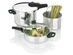Splendid Pressure Cooker 8 & 4 Qt. Set