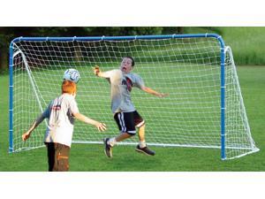 Multi-Sport 6 in 1 Tilting Goal in Blue w Backstop