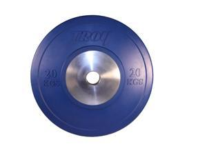 Troy Barbell 20 kg Blue Competition Bumper Plate