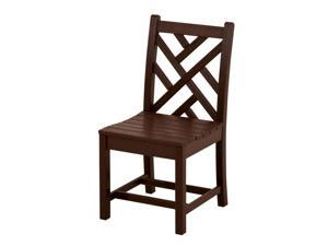Eco-friendly Side Chair in Mahogany - Set of 2