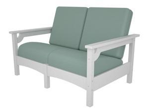 Club Settee in White