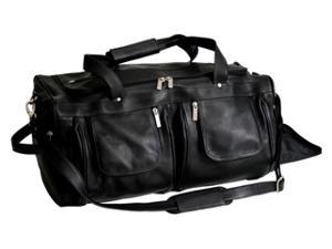 Vaquetta Nappa Duffle in Black