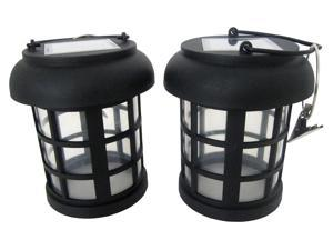 Umbrella Hanging Solar Lantern - 2 Pack