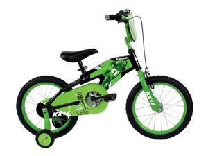 16-Inch Boy's Green/Black Bicycle