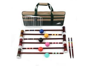 6 Players 24 in. Croquet Set
