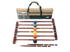 Platinum 6 Players 33 in. Croquet Set
