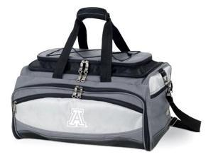 Buccaneer Embroidered Tote in Grey/Black - University of Arizona Wildcats