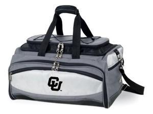 Buccaneer Embroidered Tote in Grey/Black - University of Colorado Buffaloes