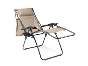 Serenity Portable Camp Chair - Two-toned Taupe