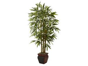 66 in. Bamboo Tree with Decorative Planter