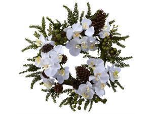 Phalaenopsis and Pine Wreath
