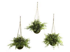 3-Pc Hanging Basket Set