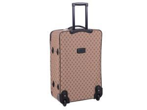 4 Pc AF Signature Luggage Set in Chocolate Gold