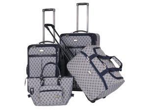 4 Pc AF Signature Luggage Set in Navy
