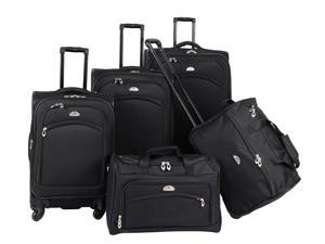 5 Pc South West Collection Luggage Set in Black