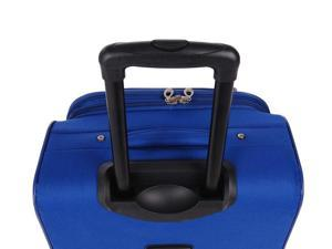 5 Pc South West Collection Luggage Set in Cobal Blue