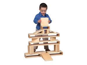 16 Pc Mini Hollow Blocks Set