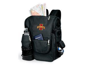 Turismo Embroidered Backpack in Black - Iowa State Cyclones