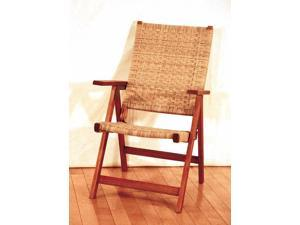 Peabody Woven Outdoor Folding Chair