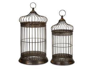 Byzantine Dome Bird Cages - Set of 2