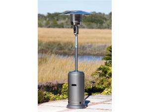 Hammer Tone Standard Series Patio Heater in Silver