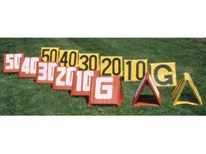 Football Deluxe Sideline Markers - Set of 11