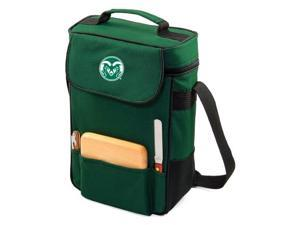 Duet in Hunter Green Colorado State Rams Embroidered Tote