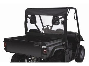 Powersport QuadGear Yamaha Rhino UTV Rear Window in Black