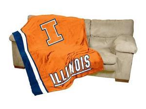Illinois Illini UltraSoft Blanket