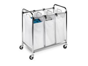 Heavy-Duty 3 Section Sorter, Chrome